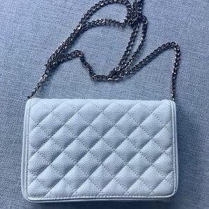 Handbags - Ivory Colored Flap Bag